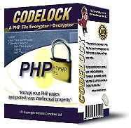 Codelock - The PHP and HTML code and script encoder / decoder